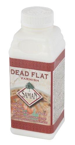 SamaN SAM-801-500ml 1-Pint Dead Flat Clear - Art Sam Wood