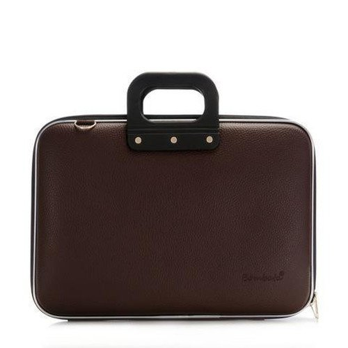 bombata-medio-briefcase-13-inch-brown