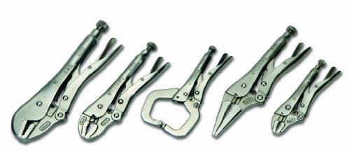 Williams 23076 5-Piece Locking Pliers Set by Williams