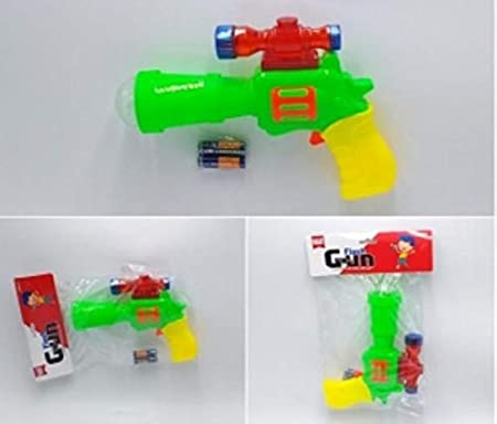 Brunte Toy Gun Battery Operated Game for The Kid(color may vary)