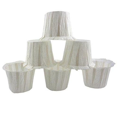 Lanlan Super valioso 100 filtros de papel desechables tazas filtro ...