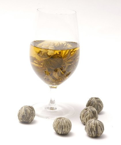 10 Jasmine Blooming Flower Tea