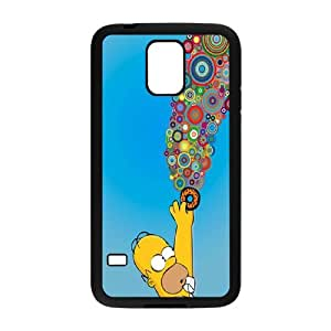 Homer Simpson's For Samsung Galaxy S5 I9600 Csae protection phone Case FXU309912