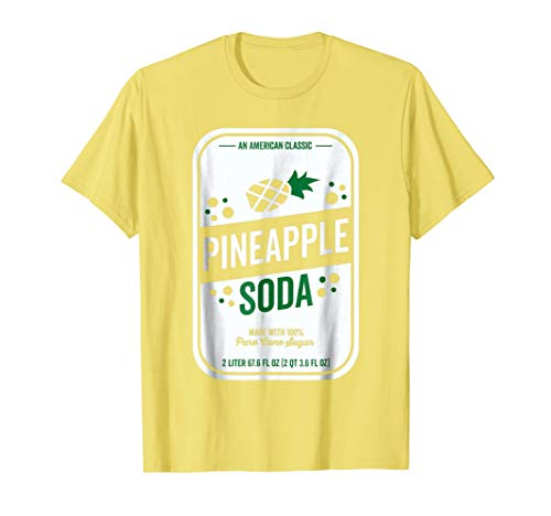 Soda Group Halloween Costume Pineapple Soda]()