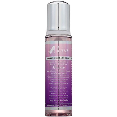 THE MANE CHOICE Pink Lemonade & Coconut Super Antioxidant & Texture Beautifier Mousse - Perfect Blended Balance of Clarification, Hydration, and Moisture (8 Ounces / 236 Milliliters) -