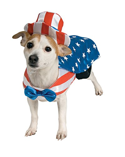 Small Mr. and Mrs. Uncle Sam Patriotic Pooch