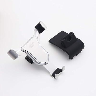HIGH FLYING Rotational Smartphone Holder Air Vent Car Mount Holder for Toyota RAV4 2014-2020 (Silver): Automotive