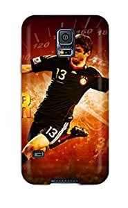 Flexible Tpu Back Case Cover For Galaxy S5 - Thomas Muller