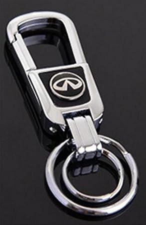 Amazon.com: TSD llave de coche cadena hecho a mano de piel ...