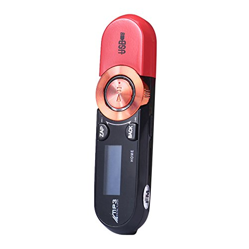 Muliti LCD 16GB Support Flash TF card MP3 Player Music FM Radio W/ Earphone (Transcend Wifi Sd Card 16gb)