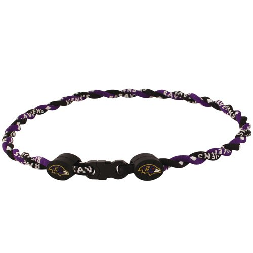 Phiten Necklaces: Baltimore Ravens Titanium Necklace, Ravens Phiten, Ravens