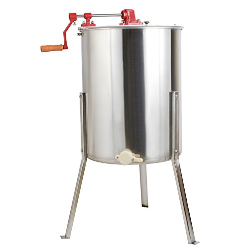 Stainless Steel Honey Extractor Centrifuge Tool - 4 Frame by LOSCATO