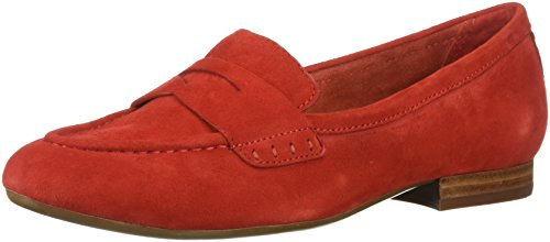 P Out Loafer, mid red Suede, 8.5 W US ()