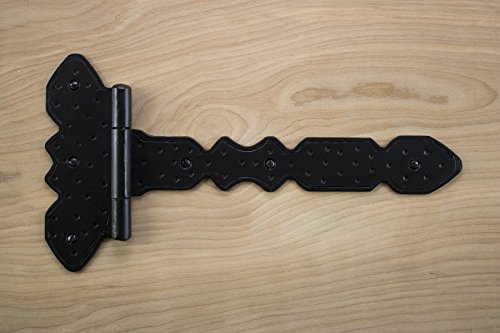 Decorative Strap Spear T Hinge 14