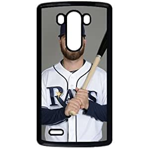 MLB&LG G3 Black Tampa Bay Devil Rays Gift Holiday Christmas Gifts cell phone cases clear phone cases protectivefashion cell phone cases HMFN635585884