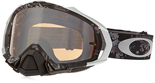 Oakley Mayhem MX Men's Goggles (Stewart Stealth Camo Frame/Black Iridium - Oakley Camo Goggles