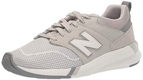 New Balance Women's 009v1 Lifestyle Shoe Sneaker, Light Cliff Grey, 11 M US
