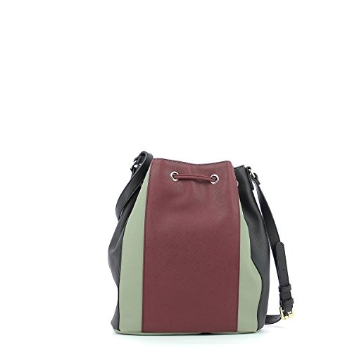 Armani 922563cc857 - Bolso baguette Mujer TAUPE/BURGUNDY