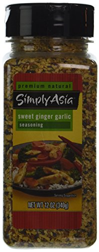- Simply Asia SWEET GINGER GARLIC Seasoning 12oz. (2 Pack)