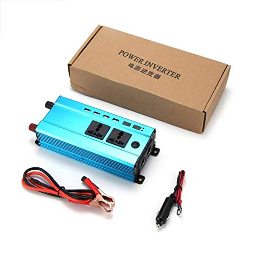 4000W Car Power Inverter Charger DC 12V/24V to AC 220V Sine Wave Converter Interfaces Voltage Transformer -