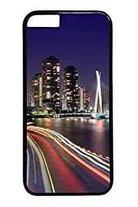 City Lights Tokyo Polycarbonate Hard For SamSung Note 4 Phone Case Cover Black