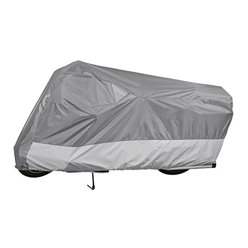 Dowco 50003-03 Guardian WeatherAll Motorcycle Cover, Gray - Large (Weatherall Plus Motorcycle Cover)