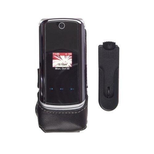 alf Clip On Leather Case For Motorola KRZR K1m (Krzr Cell Phone Cases)