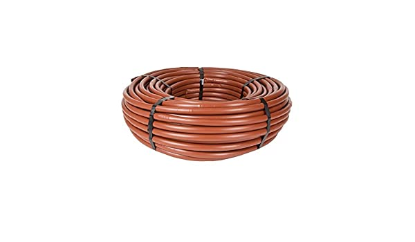 250 Brown DIG B18250 1//2 PC Irrigation Dripline w//1 GPH in-line Every 18