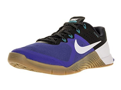 Nike Mens Metcon 2 Synthetic Trainers (14 D(M) US, Racer Blue/Bright Crimson/Blue Glow/Black)