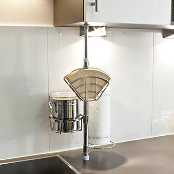 bremermann® Küchen-Teleskopregal, Küchenregal, Küchenstange, 6413 ...