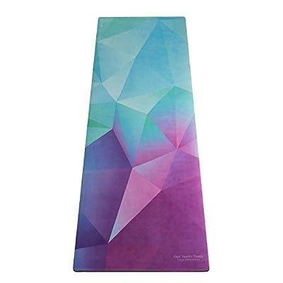 UNION YOGA MAT | Beautiful Eco Mat/Yoga Towel Combo | Optimal for Hot Yoga, Bikram, Ashtanga, Pilates, Barre etc. | Tree Planted for Every Mat Sold. Practice in Good Karma