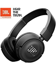 JBL On-Ear Bluetooth Headphones, Black, T450BT