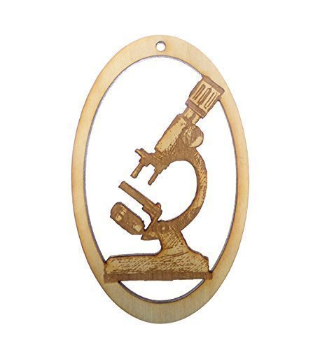 Microscope Ornament - Gift for Scientists - Cool Gifts For Science Teachers - Scientist Gifts