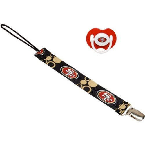 San Francisco 49ers Pacifier Clip