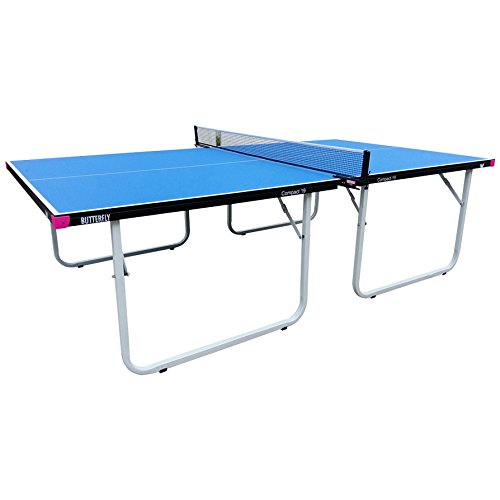 Butterfly Compact 19 Table Tennis Table with Net Set – Fully Assembled – 3 Year Warranty – Compact Storage For Sale