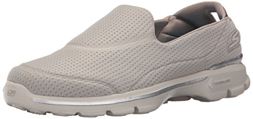 Women's Taupe Low Gowalk Top Sneakers Unfold Skechers 3 wxUwv7