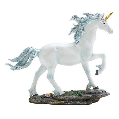 Koehler 10017949 7.5 Inch White Fantasy Unicorn Figurine
