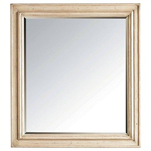 Stanley 007-23-30 European Cottage Landscape Mirror, Vintage White Finish