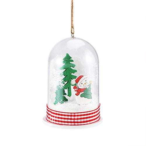 Miniature Snowman Christmas Light Table Decoration Centerpiece Xmas Tree Ornaments LED Bulb Decorative Fairy Light Crafts Decor Window Showcase Home Party Decor Kids Gift]()
