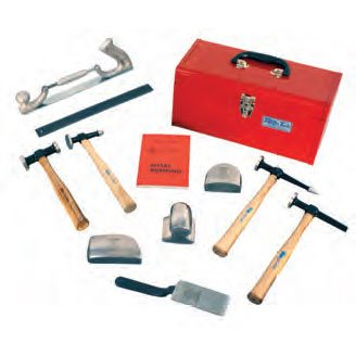 Martin Sprocket & Gear Wood Handle Body & Fender Tool Box Set 11 Pc by Martin Sprocket & Gear (Image #1)