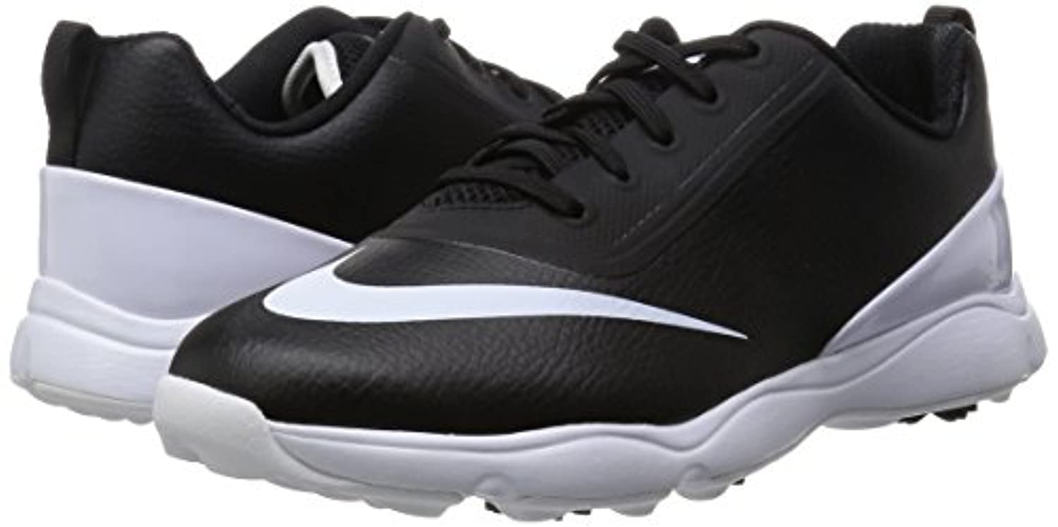 Nike Unisex Kids Control Jr Golf Shoes, Black (Black/White), 1.5 UK 33 1/2 EU