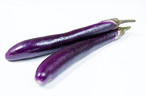 - Sow No GMO Eggplant Long Purple Italian Non-GMO Heirloom Vegetable 300 Seeds