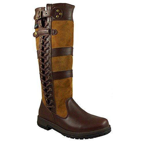 Kanyon Pferdestall-Country-Stiefel aus wasserfestem Leder