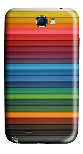 Crayons PC Case Cover for Samsung Galaxy Note II N7100
