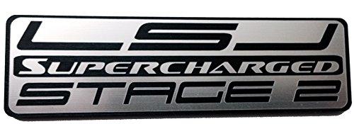 Chevrolet Cobalt SS Saturn Ion Redline Injector Cover Badge Emblem Lsj Stage 2 Supercharged - Stage 2 Injector