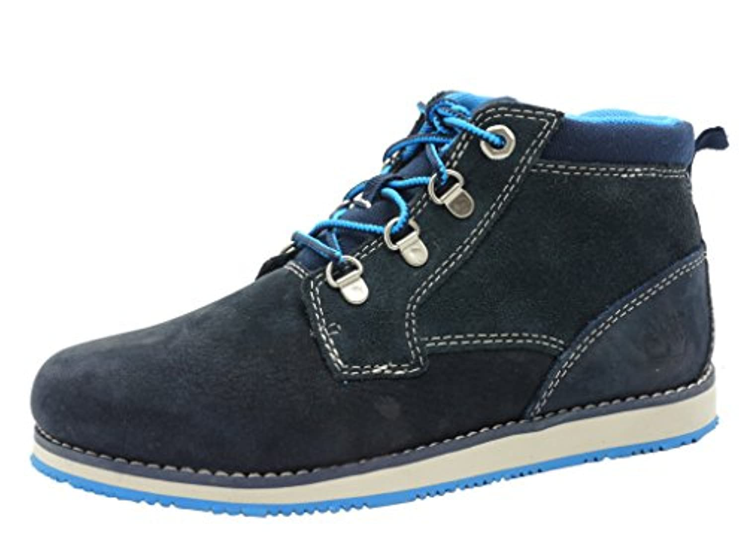 Boys Timberland Children Boys Rollinsford Boots in Blue - UK 1.5