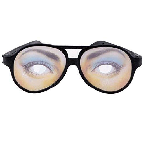 ink2055 Joke Funny Fake Eyes Disguise Glasses for