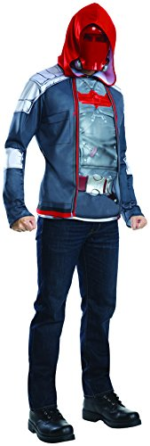 Red Hood Costume Arkham Knight (Rubie's Costume Co Men's Arkham Knight Muscle Chest Red Hood, Multi, X-Large)