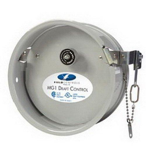 "Field Controls MG-1 Model Gas Double Swing Draft Control, 6"""