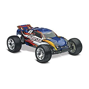 Traxxas Rustler RTR with XL-5 ESC Vehicle, Blue